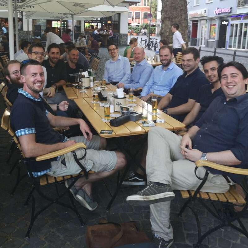 """friends of carmasec"" Stammtisch in Köln"
