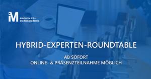 Hybrider Experten-Roundtable