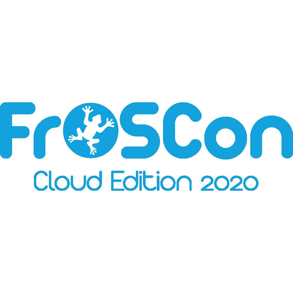 Logo FrOSCon 2020 quadratisch