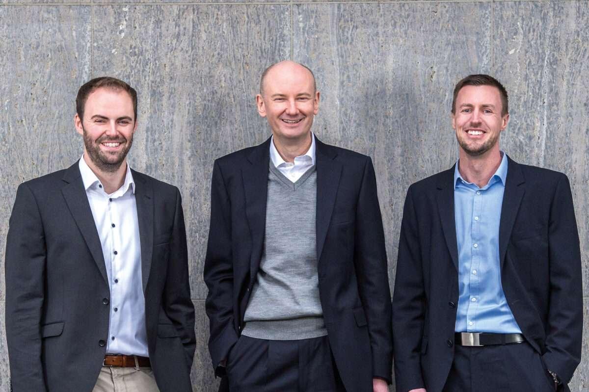 Timm Börgers, Carsten Marmulla und Jan Sudmeyer - Geschäftsführer von carmasec