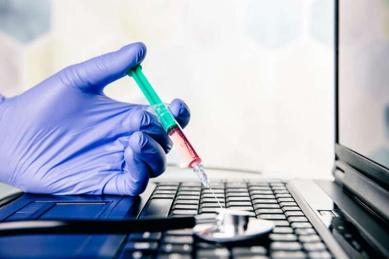 Key Art Cybersicherheit in der Medizin