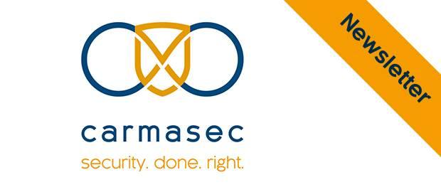 carmasec Newsletter Header