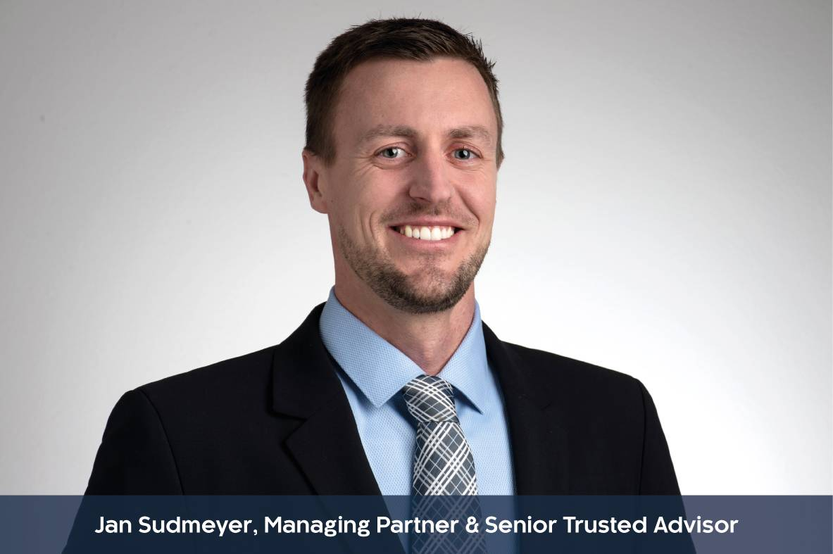 Profilbild mit Unterzeile von Jan Sudmeyer, Managing Partner & Senior Trusted Advisor