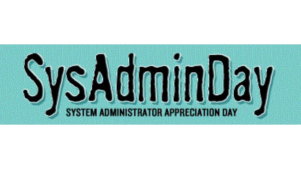 Logo Happy SysAdmin Day