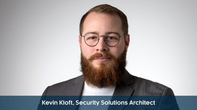 Kevin Kloft, Security Solution Architect